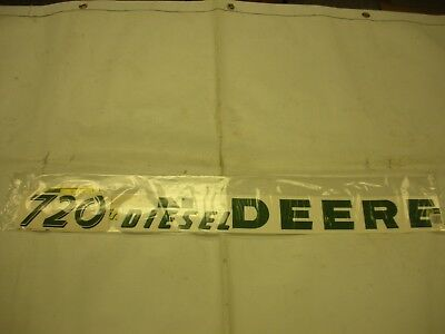 John Deere 720 Diesel Tractor Decal Set - NEW FREE SHIPPING