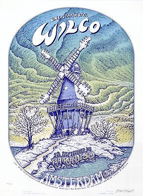 MINT EMEK 2005 Wilco Paradiso Amsterdam SIGNED Poster