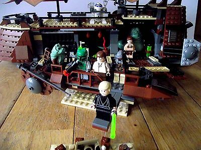 Lego Star Wars 6210: Jabba's Sail Barge (2006) 100% complete (No Box)
