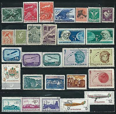 Bulgaria - 68 stamps mixed - Years 1926 to 1981...All B.O.B.
