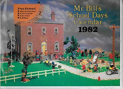 Mr. Bill's School Days Calendar 1982 Saturday Night Live Walter Williams