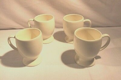 Southern Living at Home Hospitality Collection Pedestal Cream Mugs Set of 4