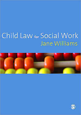 Child Law for Social Work: Policy and Practice by Jane Williams (Paperback,...