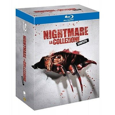 NIGHTMARE LA COLLEZIONE COMPLETA  cofanetto BLURAY nuovo collection blu-ray