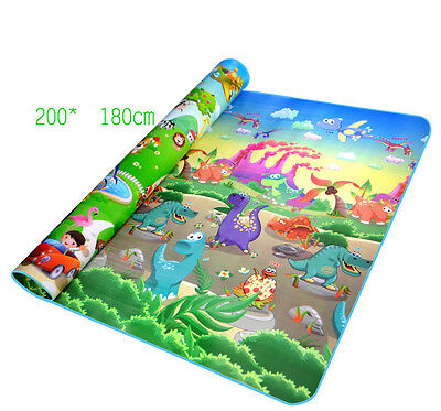 New Baby crawling mat Children's game mat Outdoor leisure Double sided  mat