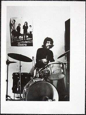The Doors Poster Page . John Densmore . H62