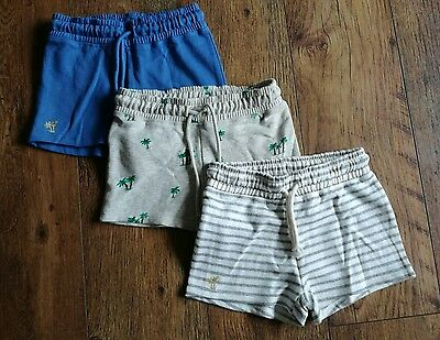 Ex Next 3 pack Girls shorts age 3 to 15 years