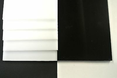 Acetal Flat Black,White Engineering Plastic Sheet 16mm,20mm,25mm Thick