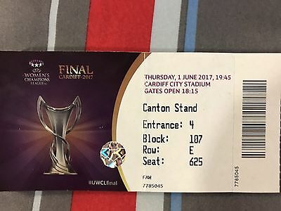 Used Ticket: Ol Lyon - Paris St-Germain 01/06/17 Uwcl Final 16/17