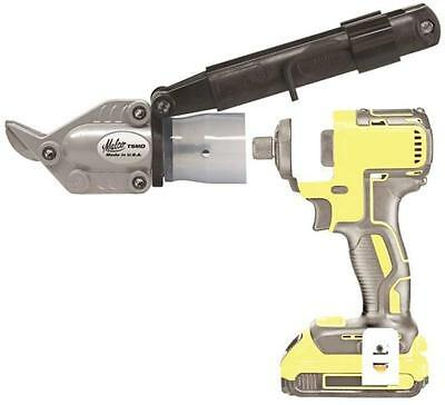 New Malco Turboshear Tsmd Double Cut Cutter Tool Siding Attachment Power Shears