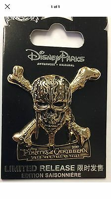Pirates of the Caribbean Dead Men Tell No Tales Opening Day pin