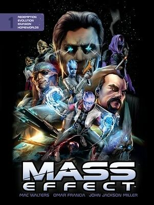 Mass Effect Library Edition Volume 1 (Hardcover), Barlow, Jeremy, Francisco, Ed.