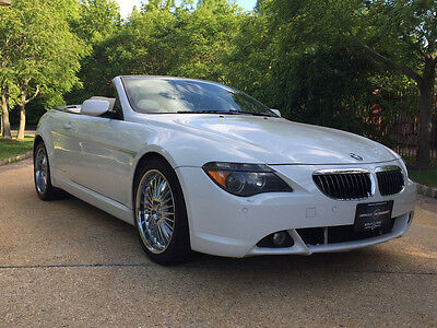 2005 BMW 6-Series Base Convertible 2-Door low mile free shipping warranty clean luxury 645ci convertible luxury cheap 650