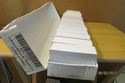 Lot Of 1000 Cr80 10 Blank Pvc Cards Cr80, 10 Mil For Business Cards