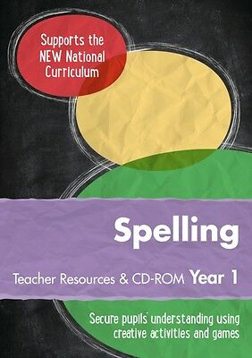 Year 1 Spelling Teacher Resources with CD-ROM: English KS1 (Ready, Steady, Prac.