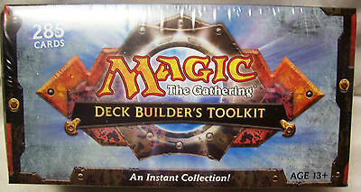 Magic The Gathering MTG 2010 Deck Builder's (Builders) Toolkit - New & Sealed