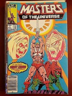 Masters Of The Universe #1 (1986) Marvel Star Comics He-Man! Skeletor! 1St Print