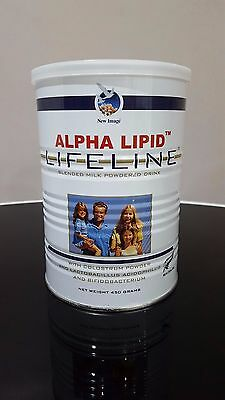 ALPHA LIPID LIFELINE COLOSTRUM POWDER 450g - FREE TRACKING WORLDWIDE!