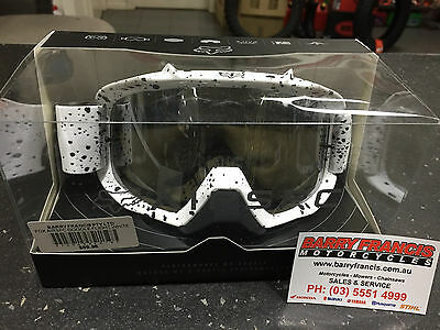 Fox Airspc Goggle Flight White Motorcross Dirtbike