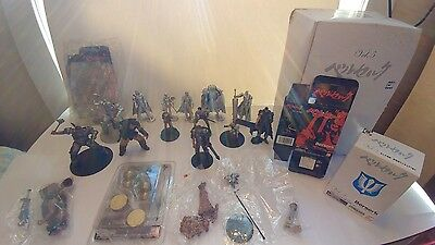 Berserk Yamato Art of War Figure Lot RARE MUST SEE JAPAN RELEASES INCLUDES BOXES