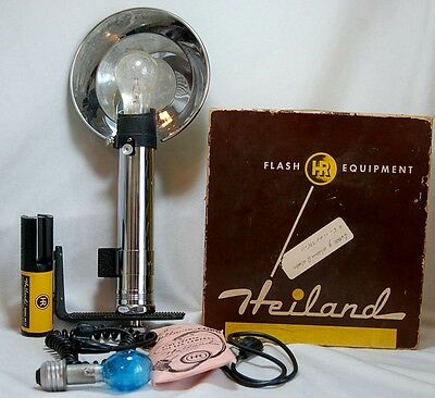 Heiland Research 2 Cell Excellent + complete Flash Set Graflex Camera, Star Wars