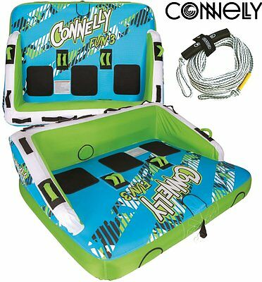CONNELLY Fun 3 Tube Sofa Towable for 3 Person Package with leash