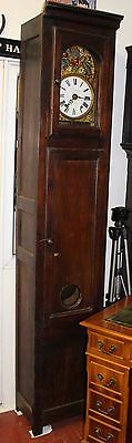 1880- French Grandfather clock -8 x day - Village :Kerscaven near Brest