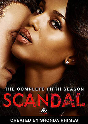 Scandal: The Complete Fifth Season 5 (DVD, 2016, 5-Disc)  New