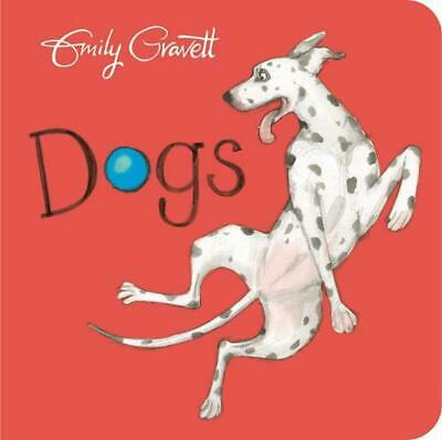 Dogs by Emily Gravett Board Books Book Free Shipping!
