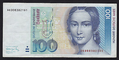 Germany Federal Republic 1991 100 Deutsche Mark Banknote P-41b