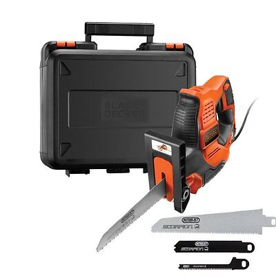 BLACK+DECKER RS890K-GB Scorpion-Powered Hand Saw With Kitbox And Auto-Select