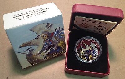 2014 Canada $20 Legend of Nanaboozhoo 1 Oz Fine Silver Coin with Box and COA