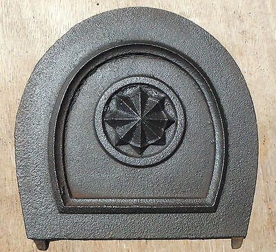Vintage Cast Iron Damper Plate / Fire Flue, Cover Flap,DRAUGHT EXCLUDER
