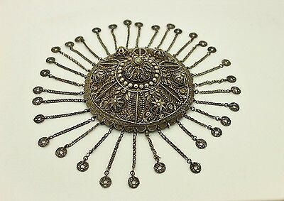 Antique Original Perfect Silver Filigree Anatolian For Lady Bridal Head Piece