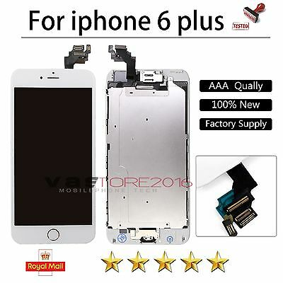 For iPhone 6 Plus LCD Touch Screen Display Full Replacement Home Button Camera