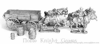 Old Glory War Between the States 25mm Supply Wagons Pack MINT