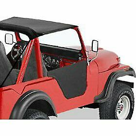 Bestop Set of 2 Half Doors Front New Jeep CJ7 CJ5 1976-1983 Pair 53027-01