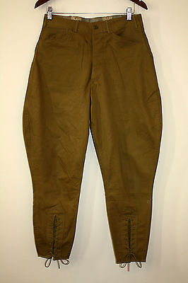 Boy Scouts Of America 1930s Breeks Pants Ankle Cinches Metal Buttons 31 - 27