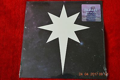 David Bowie No Plan 12'' Clear Blue Vinyl, Record Store Day RSD 2017