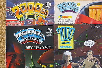 2000AD Sci-Fi Special x 4 Vintage 1985-1988 Great Condition IPC/Fleetway