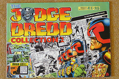 The Judge Dredd Collection Issue #2 Vintage 1986 Excellent IPC Magazines