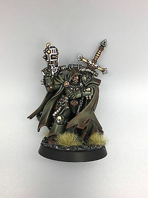 Warhammer 40,000 40K Space Marines Dark Angels Cypher Lord Of The Fallen Painted