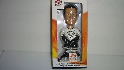 Mario Lemieux  Team  Don Cherry Hockey Bobble Head Pittsburgh Penguins