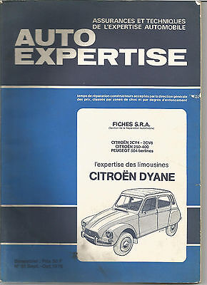 Catalogue  Auto Expertise Citroen Dyane