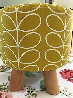 Orla Kiely Fabric Footstool