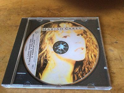 Mariah Carey - Love Takes Time - UK 1990 4trk Picture Card CD Single.RARE.