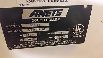 Anets Dough Sheeter/Roller SDR-21