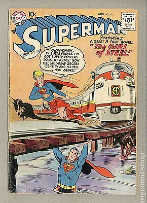 Superman (1939 1st Series) #123 GD- 1.8