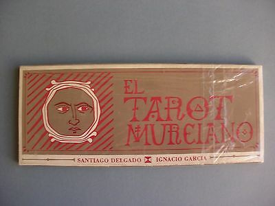 Extremely Rare El Tarot Murciano Cards Deck 1989 Spain New Sealed