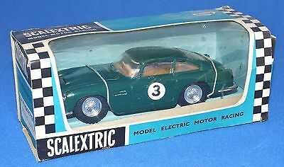 Scalextric C68 - Aston Martin DB5 (without lights) Boxed